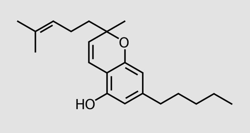 chemische Formel des CBC