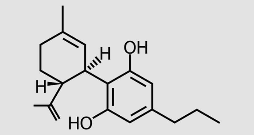 chemische Formel des CBDV