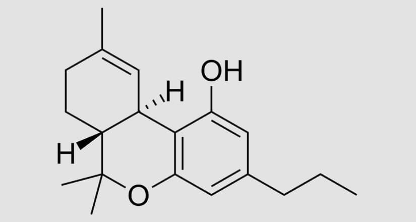 chemische Formel des THCV